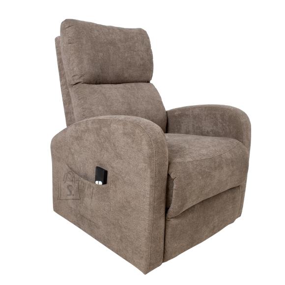 Tugitool lift recliner BARNY, pruun