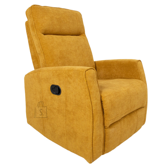 Tugitool recliner EDDY, kollane