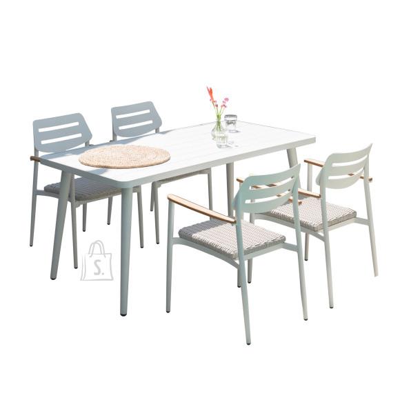 Aiam????blikomplekt WALES laud ja 4 tooli