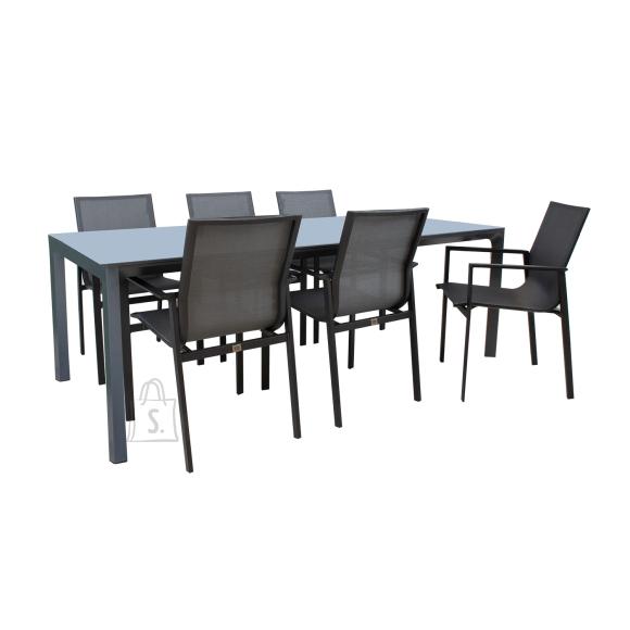 Komplekt AMALFI laud ja 6 tooli