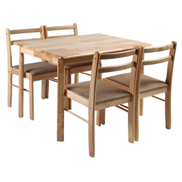 Söögitoakomplekt Lotus laud + 4 tooli