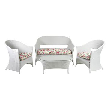Aiamööbli komplekt Whistler laud + diivan + 2 tooli