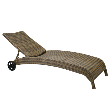 Garden4you Lamamistool Wicker capuccino