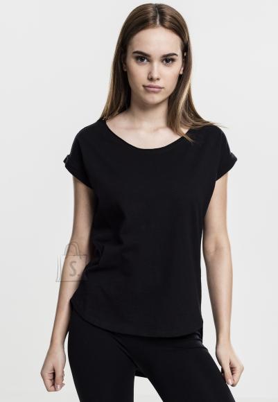 Urban Classics tagant pikema lõikega naiste T-särk