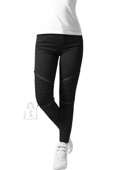 Urban Classics mootorratturistiilis naiste püksid