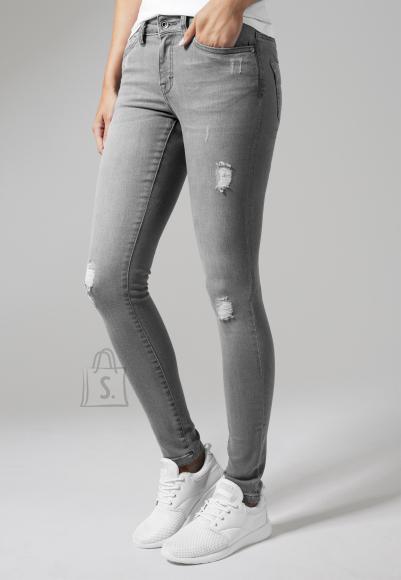 Urban Classics katkised naiste teksapüksid