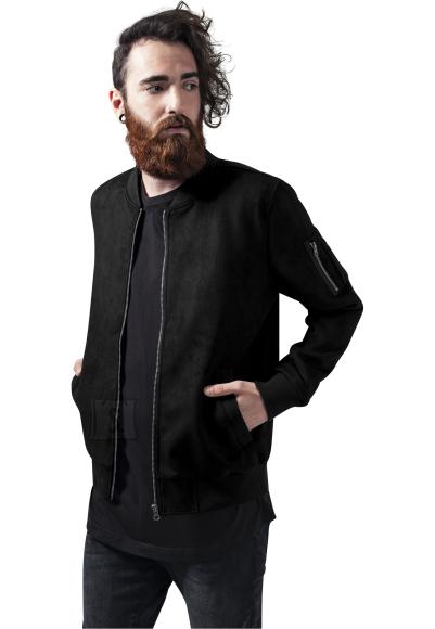Urban Classics kunstseemisnahast meeste bomber-jakk