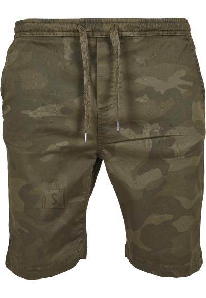 Urban Classics kamuflaažiga meeste lühikesed püksid