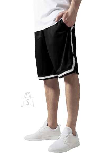 Urban Classics triibuga meeste lühikesed püksid