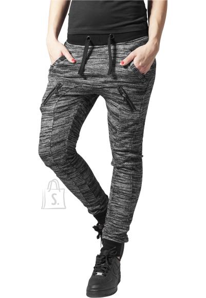 Urban Classics dressipüksid Melange Zip naiste