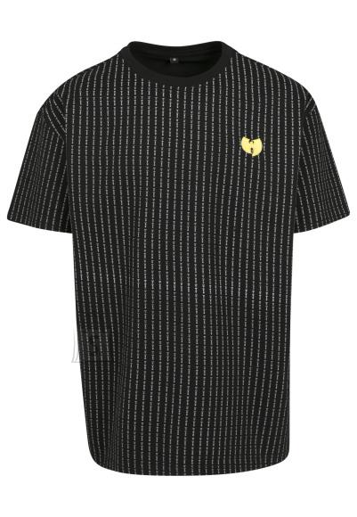 Wu-Wear mustriga T-särk