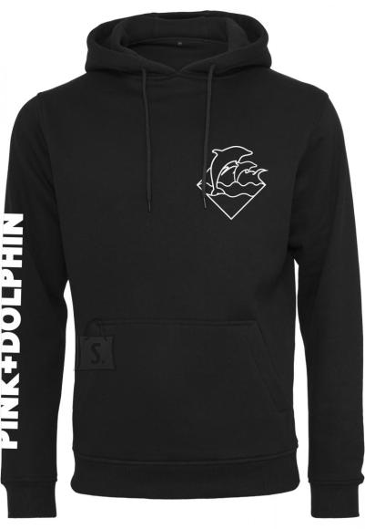 Pink Dolphin logoga meeste dressipluus