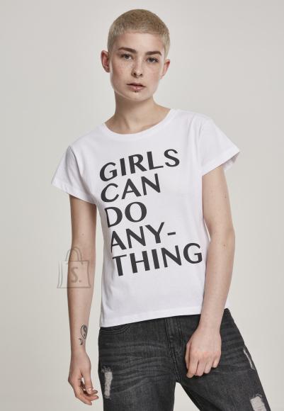 Mister Tee naiste T-särk Girls Can Do Anything