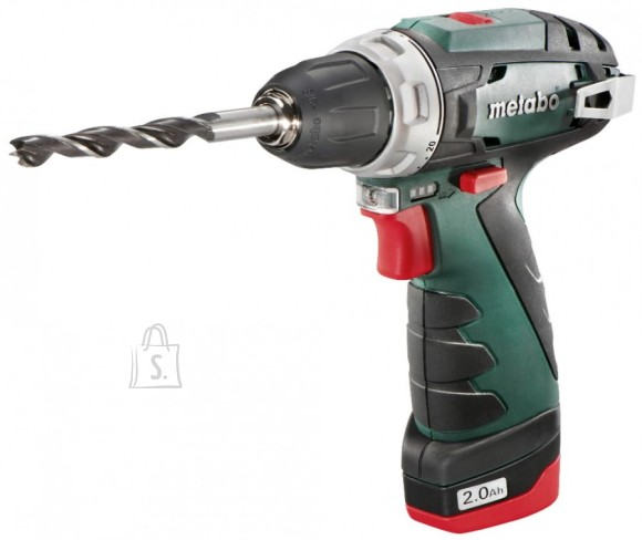 Metabo Akutrell PowerMaxx Basic, kohvris / 2,0Ah