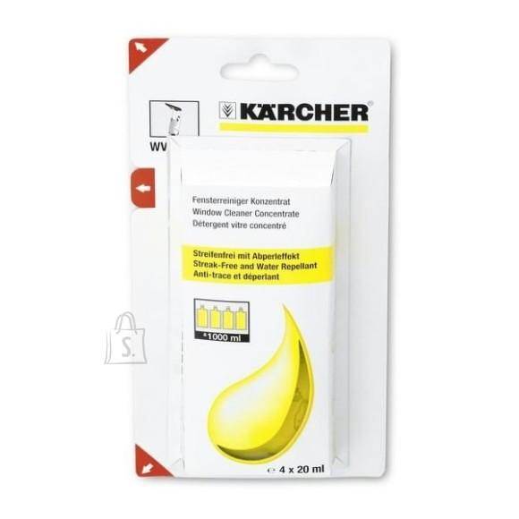 Kärcher Klaasipesuaine 4x20ml aknapesurile WV, Kärcher