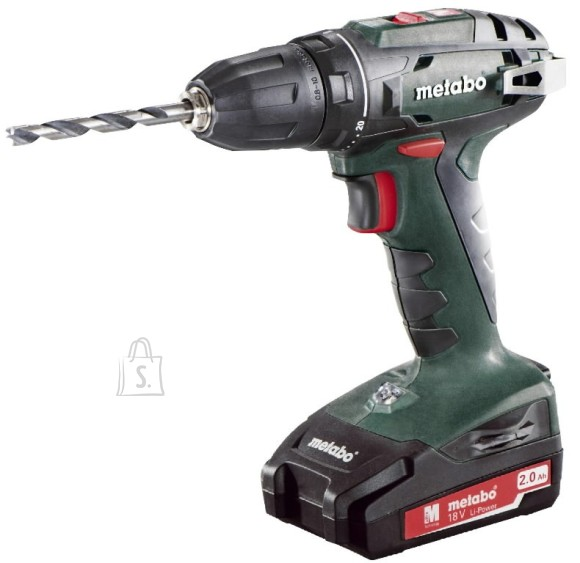 Metabo akutrell BS 18 13 mm padruniga