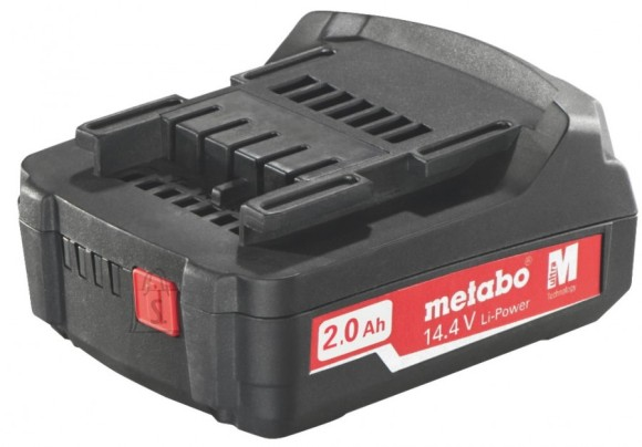 Metabo Aku 14,4 V / 2,0 Ah, Li Power Compact, Metabo