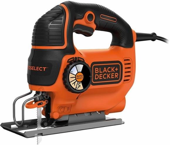 Black & Decker Tikksaag KS801SEK / 80 mm / 550W