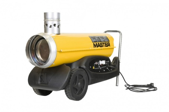 Master soojapuhur diiselmootoriga. BV 77 E, 20  kW