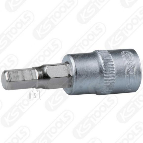 """KS Tools 3/8""""; 4mm kuuskant otsikupadrun"""
