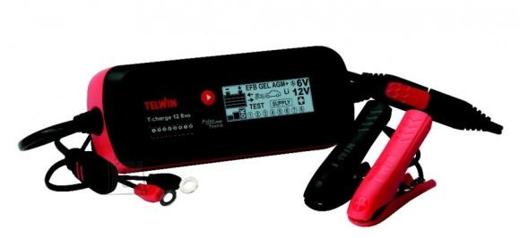 Telwin T-Charge 12 EVO, LI, 6-12V intelligent, veekindel akulaadja