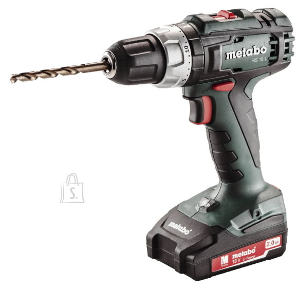 Metabo akutrell BS 18 L 13mm 18V/2,0Ah