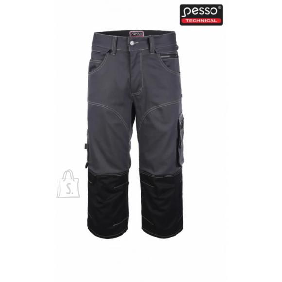 Tööpüksid  Stretch 3/4 tumehall C60, Pesso