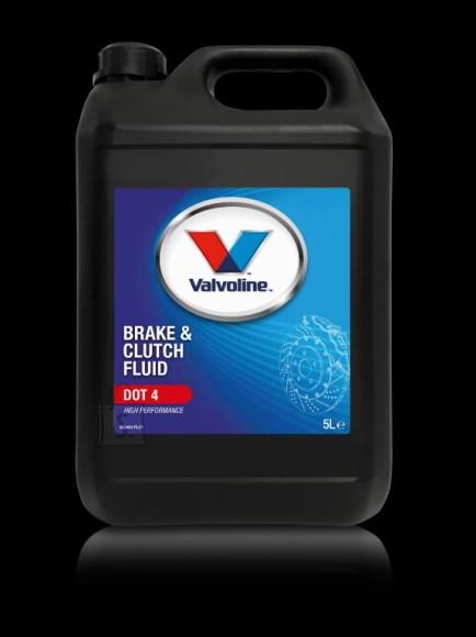 Valvoline Piduri ja siduri vedelik DOT 4 Brake&Clutch Fluid 5L, Valvoline