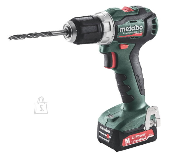 Metabo Akutrell PowerMaxx BS 12 BL / 2x2,0 Ah, Metabo