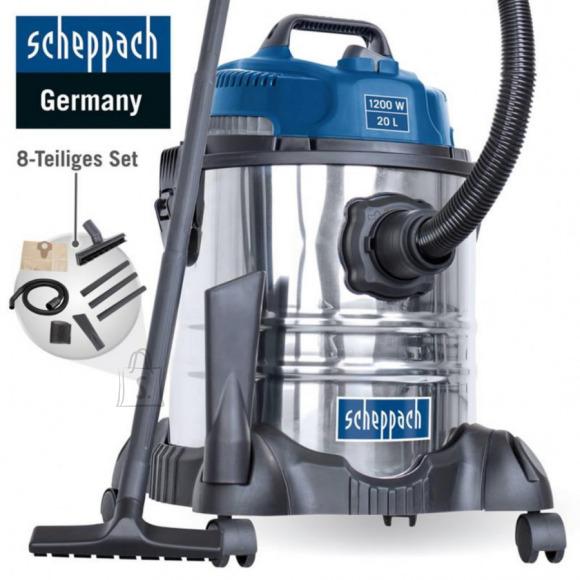 Scheppach Vee- ja tolmuimeja ASP 20-ES, puhumisfunktsiooniga, Scheppach