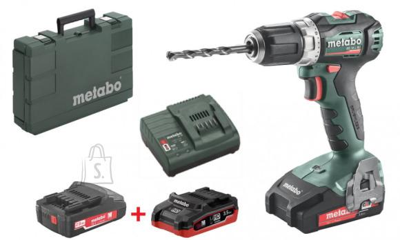 Metabo Akutrell BS 18 L BL /2x2,0 Ah + LiHD 3,5Ah, Metabo
