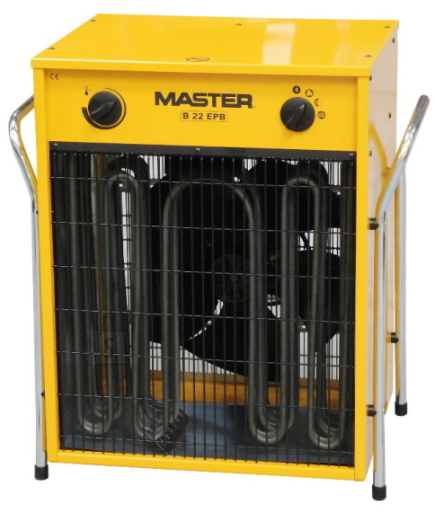 Master elektri soojapuhur B 22 EPB, 22 kW,