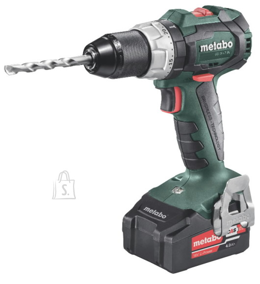 Metabo Akutrell BS 18 LT BL / 2x4,0 Ah, Metabo