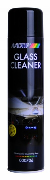 Motip Klaasipuhastusvaht GLASS CLEANER Foam600ml aerosool BL, MoTip