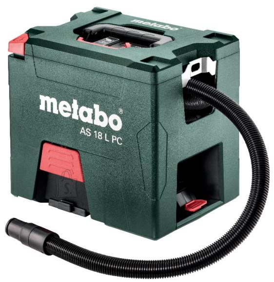 Metabo Akutoitel tolmuimeja AS 18 L PressClean, ilma aku/laadijata, Metabo