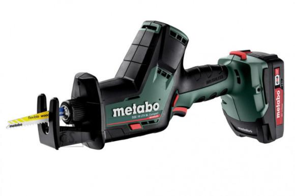 Metabo Akuotssaag SSE 18 LTX BL Compact / 2,0Ah, Metabo
