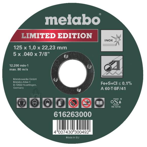 Metabo Lõikeketas 125x1mm Special Edition II Inox, Metabo