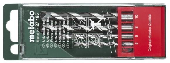 Metabo 5-10mm, 4osaline universaalpuuride komplekt