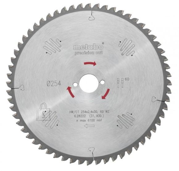 Metabo Saeketas 160x1,6/1,1x16, z24, WZ, 22°. Precision cut KSA 18 LTX, Metabo