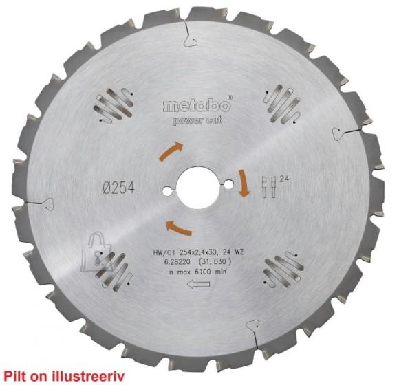 Metabo Saeketas 190x2,2/1,4x30, z48, WZ, 15°. Precision Cut. KS 66 / KSE 68, Metabo
