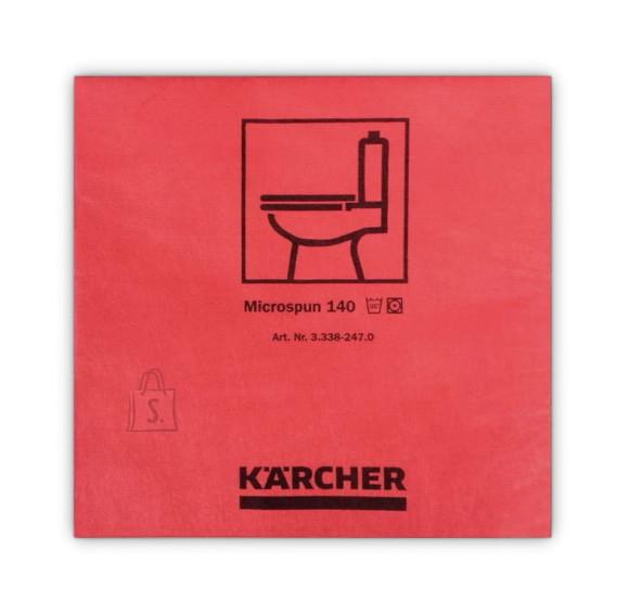 Kärcher Mikrofiiberlapp 37,5 x 38 cm, punane ( 10 tk pakis), Kärcher