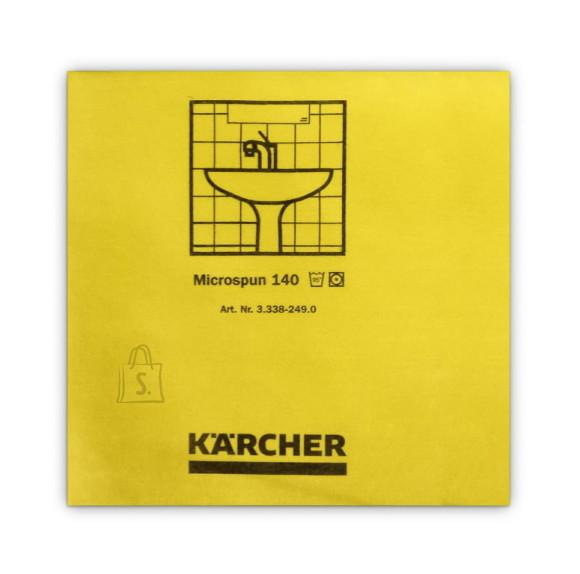 Kärcher Mikrofiiberlapp 37,5 x 38 cm, kollane ( 10 tk pakis), Kärcher