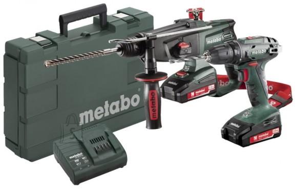 Metabo 18V Combo: akutrell BS 18 + Akupuurvasar KHA 18 LTX