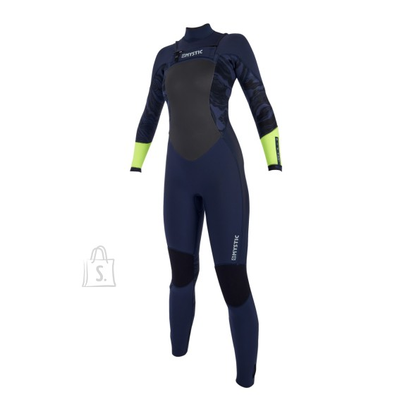 2019 Naiste kalipso Mystic Women Diva 5/3 Double-Zip Navy-Lime