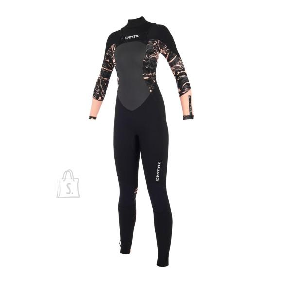 2019 Naiste kalipso Mystic Women Diva 5/3 Double-Zip Black/Pink