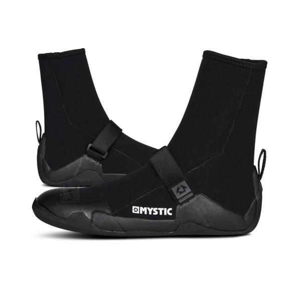 Mystic Star Boot - Round toe (5mm) surfisussid black