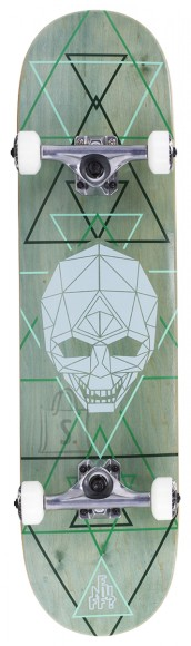 Enuff Geo Skull rula Green 8 x 32