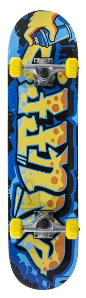 Enuff Graffiti II rula Yellow 7.75 x 31.5