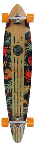 MIindless Longboard MAVERICK IV TALISMAN Orange