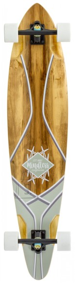MIindless Longboard CORE PINTAIL Red